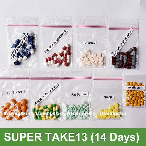 Bkk SUPER TAKE13 Slimming Diet Pills from Thailand  (14 days)