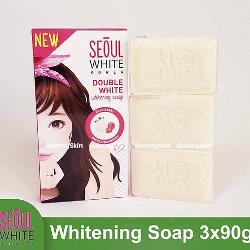 Seoul White Korea Double White Whitening Soap (Triple Pack) 90g
