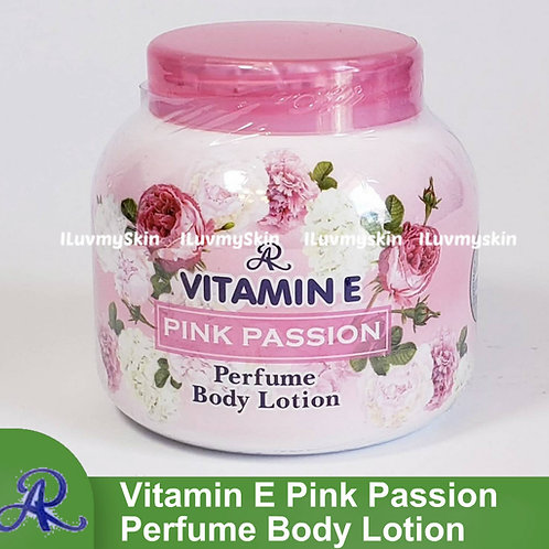 AR Vitamin E PINK PASSION Perfume Body Lotion 200g