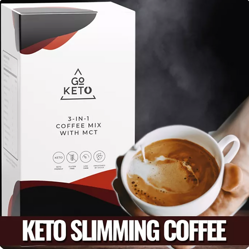 Goketo Slimming 3-in-1 Coffee Mix with MCT (10 Sachet) 1 Box