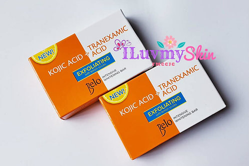 Belo Intensive Kojic & Tranexamic Acid Exfoliating with Lemon Scrub 65g (2 bars)