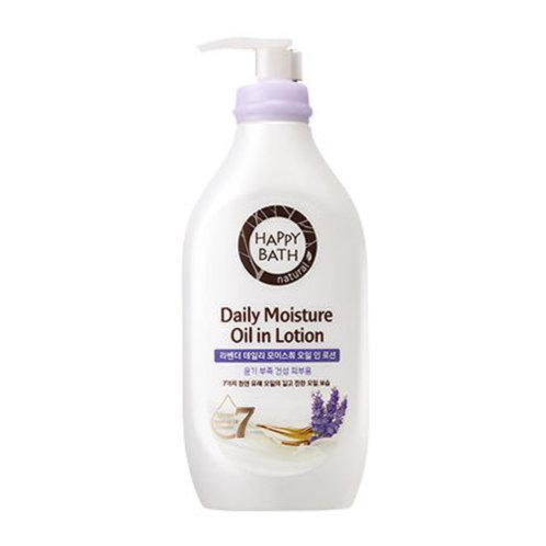 HAPPY BATH - Lavender Daily Moisture in Lotion 450ml