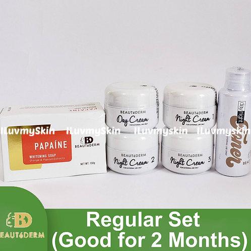 Beautederm Regular Beaute Set (Good for 2 months)