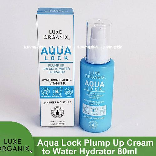 Luxe Organix Aqua Lock Plump up Cream to Water Hydrator 80ml