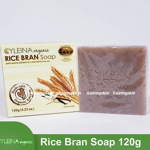 Cyleina Organic Rice Bran Soap 120g