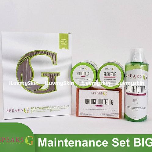 Speaks G Rejuvenating Maintenance Set (Jumbo)