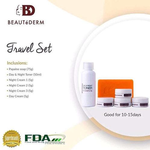 Beautederm Travel Beaute Set (Good for 10-15 days)