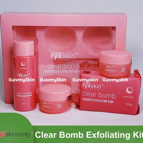 RyxSkincerity Clear Bomb Advance Exfoliating Kit