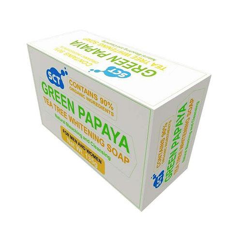 SCT Green Papaya Tea Tree Whitening Soap (Organic) 135g