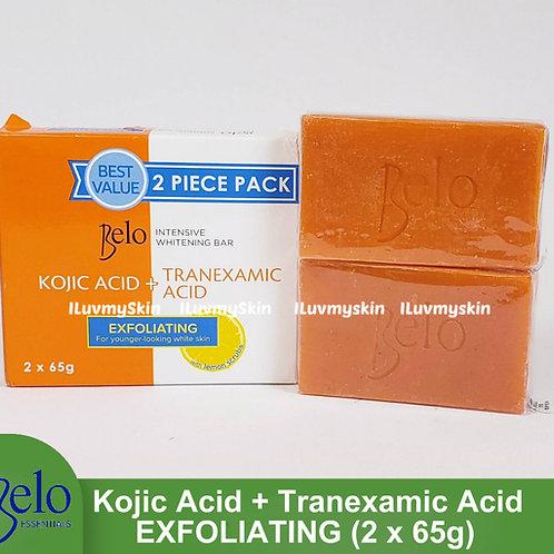 Belo Intensive Kojic & Tranexamic Acid Exfoliating Soap (2 bars x 65g)