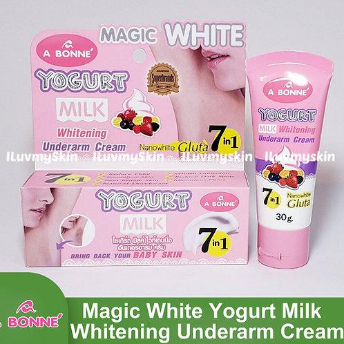 A Bonne Magic White Yogurt Milk UNDERARM Whitening Cream