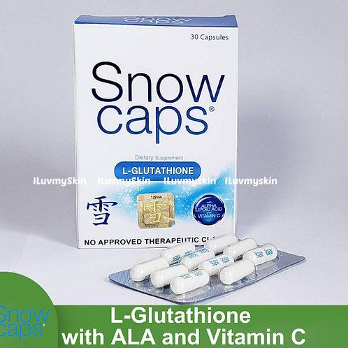 SNOWCAPS L-Glutathione Capsule with ALA and Vitamin C (30 capsules)