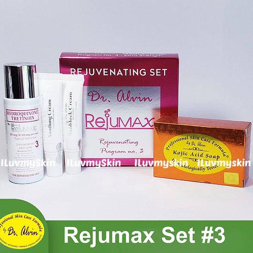 Dr Alvin Rejumax #3 Set (Macropeeling) by PSCF