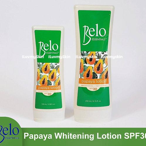 Belo Essentials Papaya Whitening Lotion SPF30