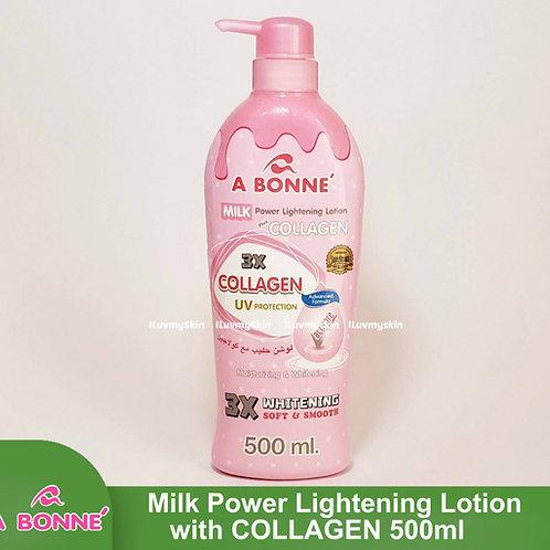 A Bonne Milk Power Lightening Lotion Plus Collagen 500ml