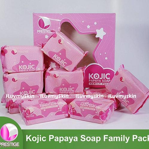 Prestige International Kojic Acid Soap with Papaya Puree (10 pcs per pack)