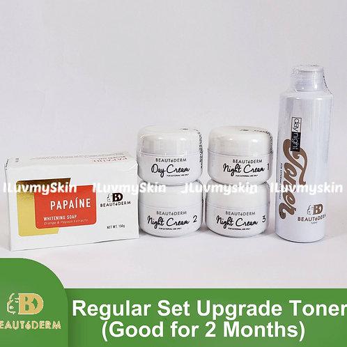 Beautederm Regular Beaute Set Upgrade Toner (Good for 2 months)