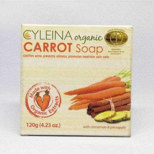 Cyleina Organic Carrot Soap 120g