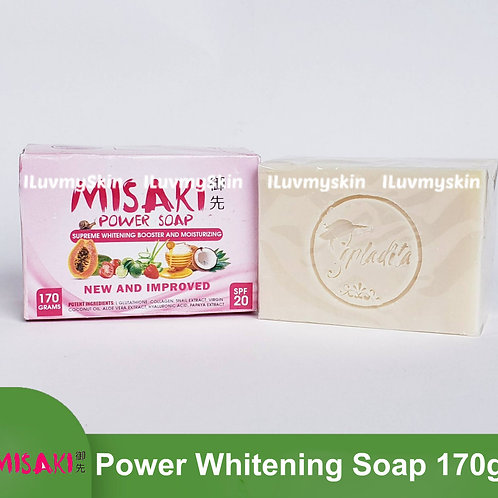 Misaki Supreme Whitening Booster and Moisturizing Power Soap