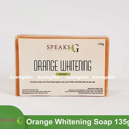 Speaks G Orange Whitening Soap 135g