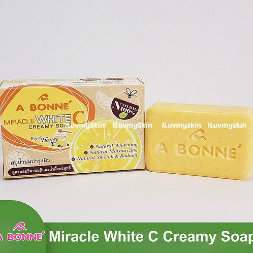A BONNE White C 3X Whitening Vitamin C Creamy Soap 90g