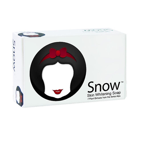 SNOW Skin Whitening Soap 7 Plants Extract from the Swiss Alps (135g)