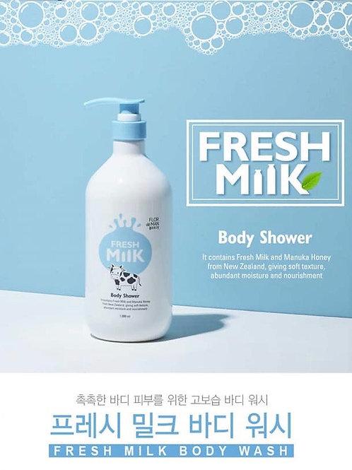 Flor De Man Fresh Milk Body Shower 1000ml