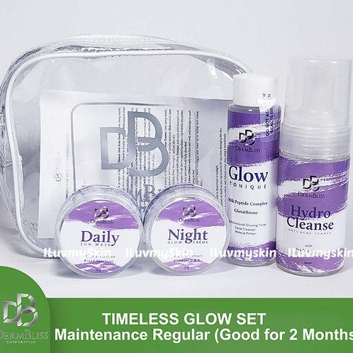 DermBliss Timeless Glow Set (Maintenance Regular - Good for 2 Months)