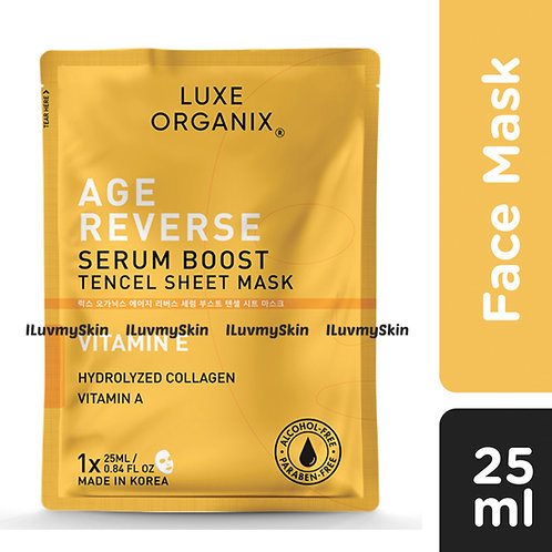 Luxe Organix Age Reverse Serum Boost Sheet Mask 25ml (1 piece)