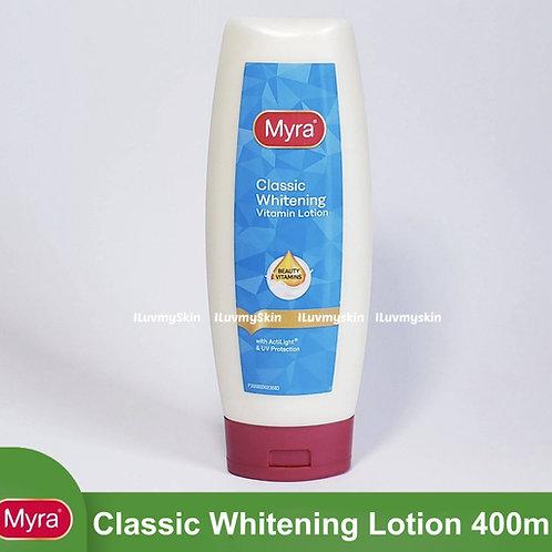 Myra Classic Whitening Vitamin Lotion 400ml