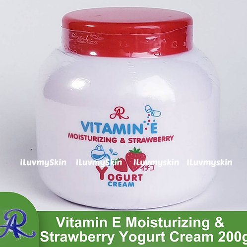 AR Vitamin E Moisturizing & Strawberry Yogurt Cream 200g