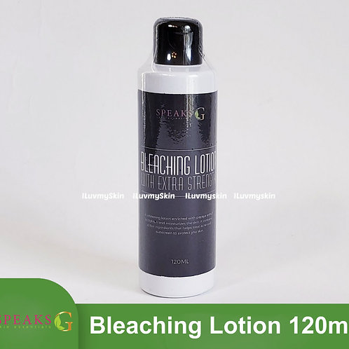 Speaks G Bleaching Lotion with Extra Strength 120ml