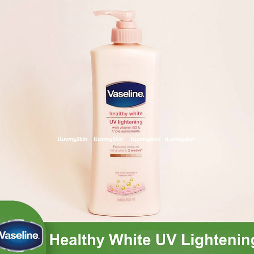 Vaseline Lotion Healthy White UV Lightening 400ml