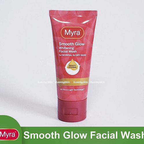 Myra Smooth Glow Whitening Facial Wash 50ml