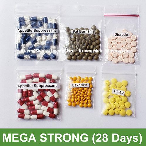Bkk MEGA STRONG Slimming Diet Pills from Thailand  (28 days)