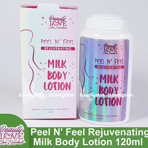 Beauty Love Skin Essentials Peel N Feel Rejuvenating Milk Body Lotion 120ml