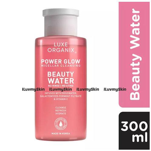 Luxe Organix Power Glow Micellar Cleansing Beauty Water 300ml