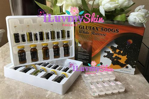 GLUTAX 500GS White Reverse 10 vials (Complete Set)