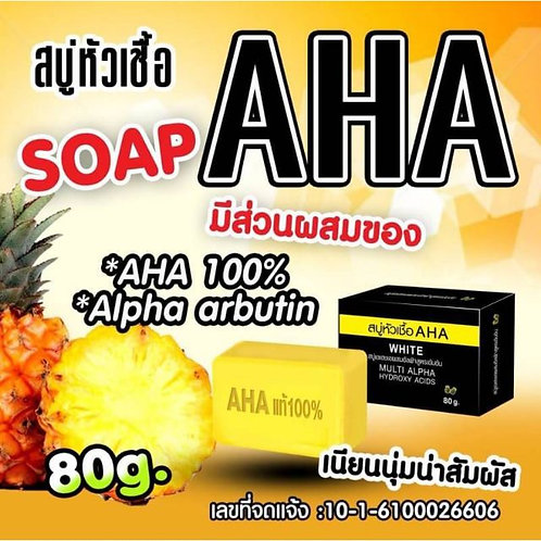 AHA White Multi Alpha Hydroxy Acids Soap 80g
