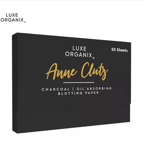 Luxe Organix Charcoal Blotting Paper 50 Sheets