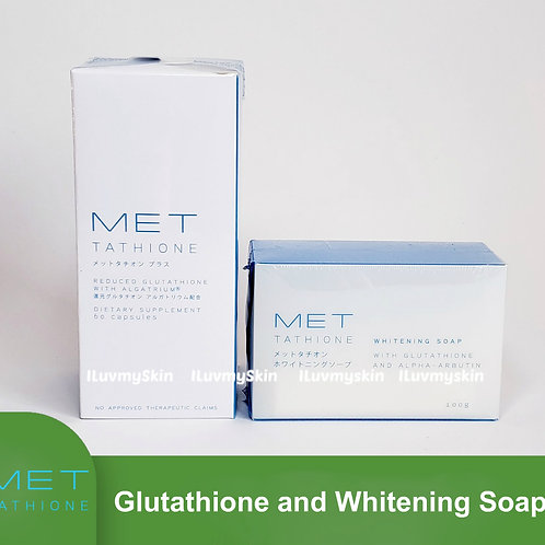 Met Tathione Reduced Glutathione and Met Tathione Whitening Soap