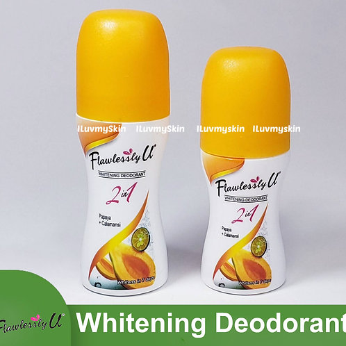 Flawlessly U 2in1 Orange Papaya Calamansi Whitening Deodorant