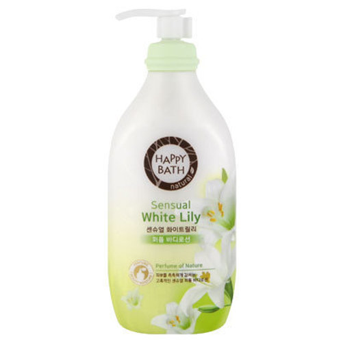 HAPPY BATH - Sensual White Lily Body Lotion 450ml