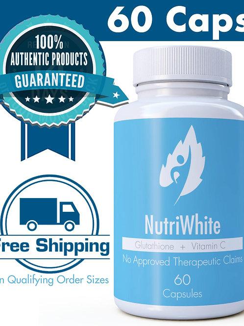 Nutrition NutriWhite Glutathione + Vitamin C (60 Caps)
