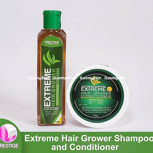 Prestige International Extreme Hair Grower Shampoo + Conditioner