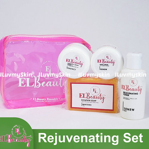EL Beauty Rejuvenating Set (Organic Papain Soap) Free reusable pouch