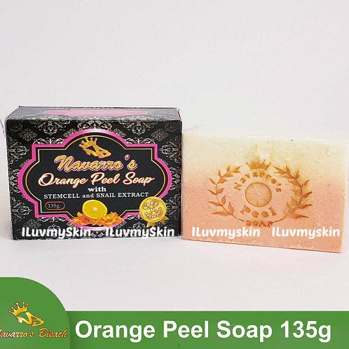 Navarro's Bleach Orange Peel Soap 135g