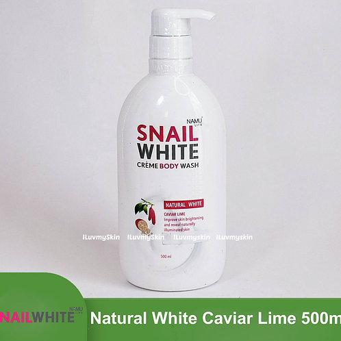SNAIL WHITE Creme Body Wash Natural White 500ml
