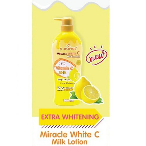 A Bonne Miracle White C 3X Vitamin C Extra Whitening Lotion 500ml (NEW)