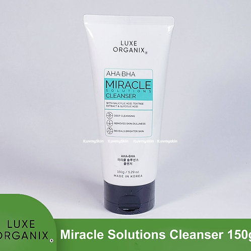 Luxe Organix Miracle Solutions Cleanser 150g